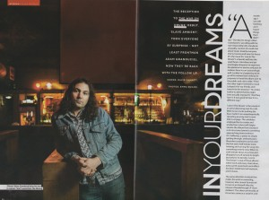 The War On Drugs - DIY (page 1 & 2)- March 2014