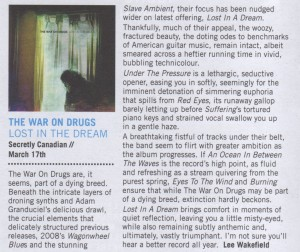The War On Drugs - London In Stereo - March 2014