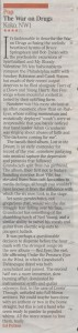 The War On Drugs - The Times (live review) - 29.05.14