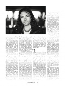 The War On Drugs - Loud and Quiet (feature p3) - August 2014.